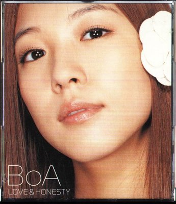 K - 寶兒 BOA - LOVE & HONESTY - 日版 CD+DVD