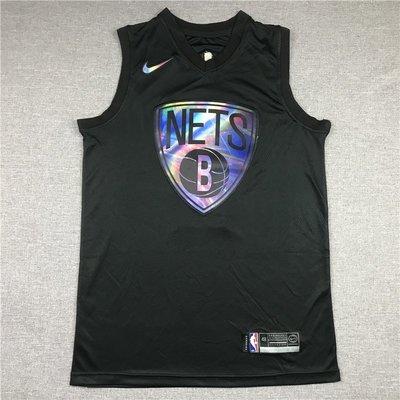 凱里·厄文(Kyrie Irving) NBA布魯克林籃網隊 彩虹版 黑色 球衣11號