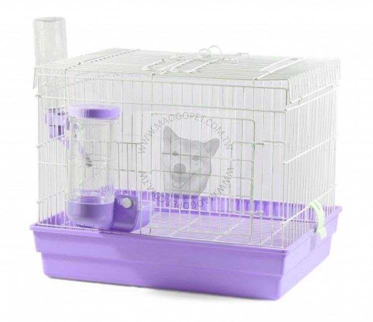 皇冠 ACEPET 愛兔套房(中)1尺半 雙開天窗兔籠 天竺鼠籠 貂籠#745-A(附 塑餵食器+飲水頭)每件990元