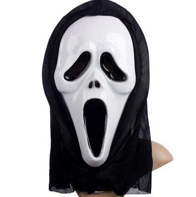 驚聲尖叫面具 經典款 萬聖節角色扮演 cosplay 整人玩具 MASK