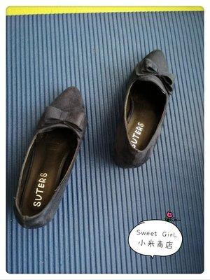 Sweet Girl小米商店✪藍色高跟鞋23號(二手)促銷價-最後特價