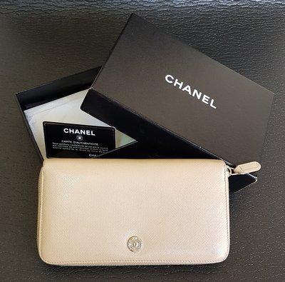 香奈兒 Chanel 皮夾 COCO ㄇ型拉鍊 長夾 , 正品保證  新春出清特價