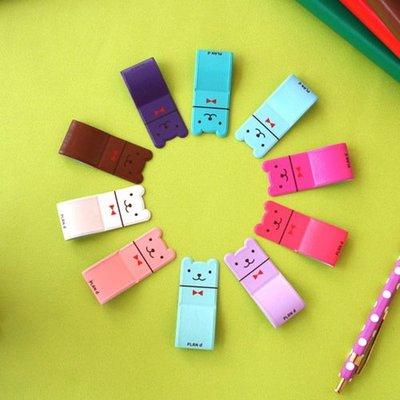 ♀高麗妹♀韓國 SECOND MANSION PEN HOLDER 幸運貝兒 黏貼式皮革筆套/創意掛勾(5色選)預購