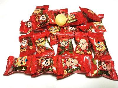 好運水果糖果-發財水果糖-台灣製造-1公斤裝-彩券 開市 新春 批發糖果團購-JJ食品批發賣場