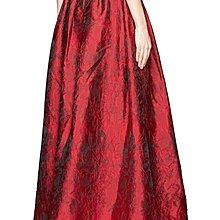 Meico Fashion 美可時尚 Alice and Olivia 經典皇室貴族紅 Gown 禮服長裙 (現貨)