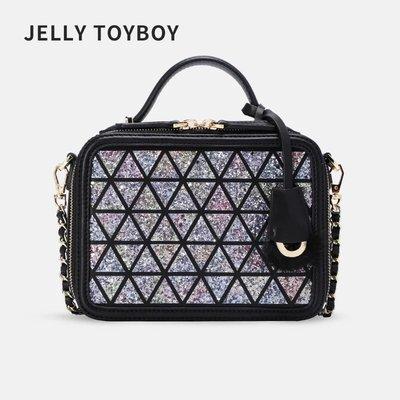 2018秋冬正品香港潮牌 JELLYTOYBOY 果凍包 cosmetic 惡搞小香 香奶奶 Vanity Case