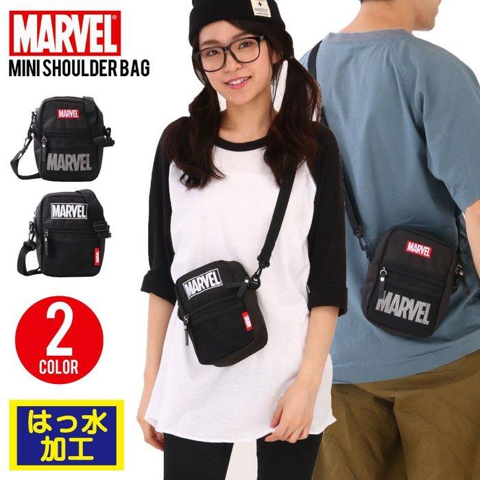 日本 MARVEL 斜背包  小包 漫威漫畫   輕量  隨身包 逛街包  防撥水加工 正品 LUCI日本代購