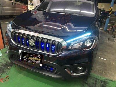 (小鳥的店)鈴木 2016-2021 SX-4 SX4跑馬導光條 雙色 LED光條  流水燈條 方向燈 台製