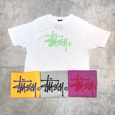 【Faithful】STUSSY BASIC LOGO TEE【2903016】 基本款 女版 短T