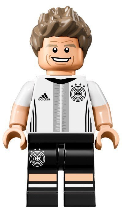 【LEGO 樂高】益智玩具 積木/ DFB 德國足球隊 人偶系列 71014   單一人偶: Thomas Müller
