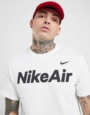 南◇2020 1月 Nike Air T-Shirt 短TEE 短T 運動 男生 白色  文字 小勾勾 基本款