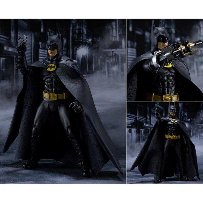 東京都-S.H.Figuarts SHF BATMAN1989 蝙蝠俠1989 可動 人物高約15公分 代理 現貨