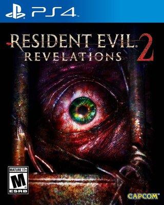 全新未拆 PS4 惡靈古堡:啟示2 -中文英文日文版- Biohazard Revelations 2 生化危機 啟示錄