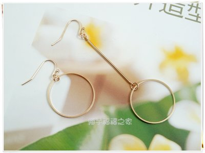 【N&Y】EB15韓版簡約圓形環耳環☆...