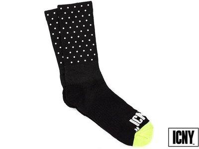 【ICNY台灣授權經銷商】ICNY BASIC MINI DOT HALF CALF SOCKS 3M 點點反光性能踝襪 長筒襪 長襪 襪子