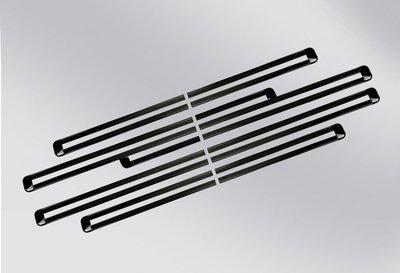 豐田 Previa 2.4 / 3.5 不鏽鋼 黑鈦 滑軌飾條 防刮 耐磨 美觀 高質感 直貼上 A17