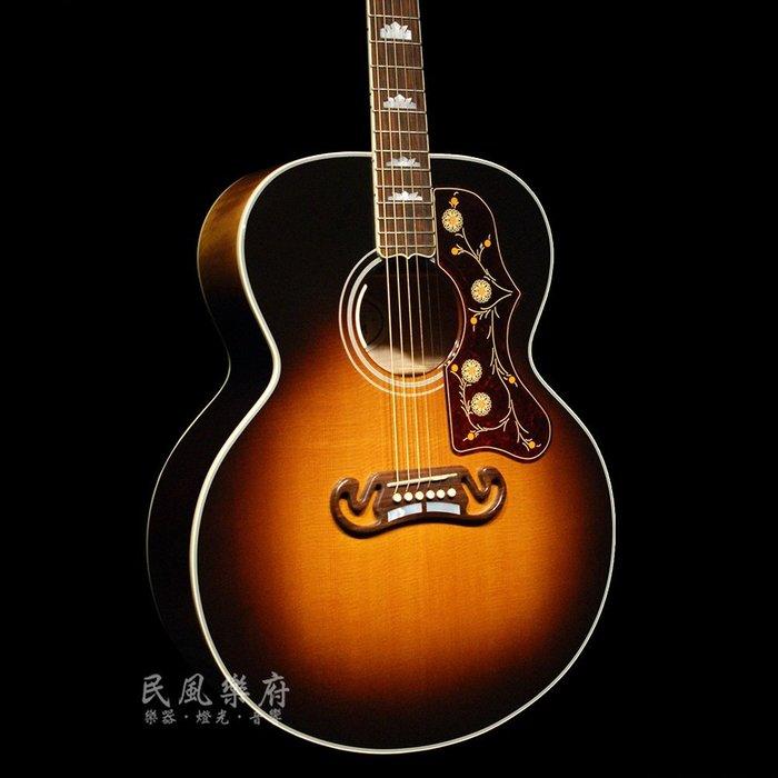 《民風樂府》Gibson J-200 VS 美國廠 Jumbo琴身 傳奇經典型號 木吉他的王者 全新品公司貨 現琴在店