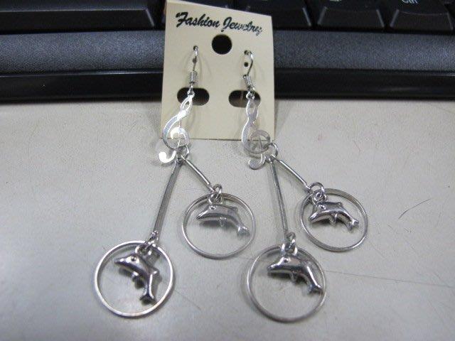 二手舖 NO.4484 時尚造型耳環 耳針 耳鉤 便宜賣 首飾飾品