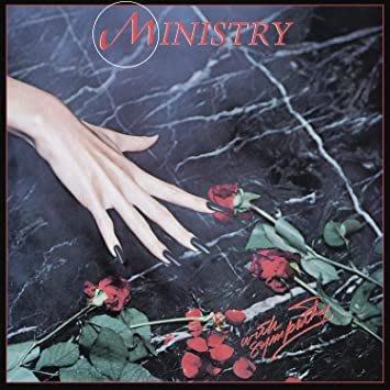 美國進口滑板搖滾樂團 黑膠唱片 MINISTRY With Sympathy 滑板面吋METAL重金屬PUNK