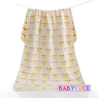 BabyFace【五層紗】紗布料擦澡皇冠大浴巾小被子蓋毯冷氣毯防踢多用途全家適用(70*140)