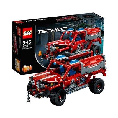 積木城堡 迷你廚房 早教益智LEGO積木拼裝玩具緊急救援車42075