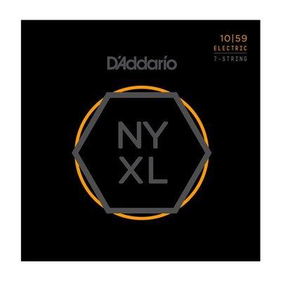 【又昇樂器 . 音響】DAddario NYXL 1059 Nickel Wound 七弦 電吉他弦