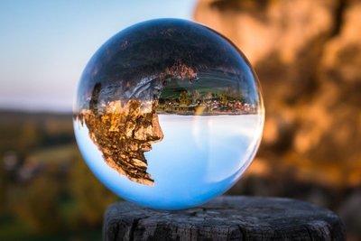 全新-荷蘭Lensball 水晶玻璃球濾鏡