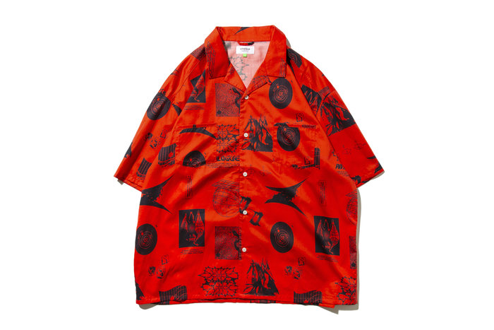 """[ LAB Taipei ] DeMarcoLab """"THE COUNTER EARTH SHIRT"""" (Red)"""