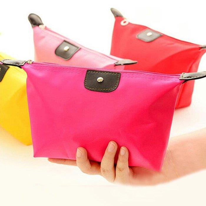 乾一韓國簡約隨身收納包便攜小號多功能大容量旅行口紅化妝包洗漱袋女