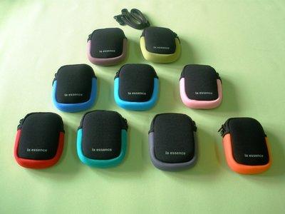 la essence 熱賣商品 LE-9305S(小) 防衝擊-惰性綿相機袋/手機袋(創新設計)惰性棉+潛水衣布