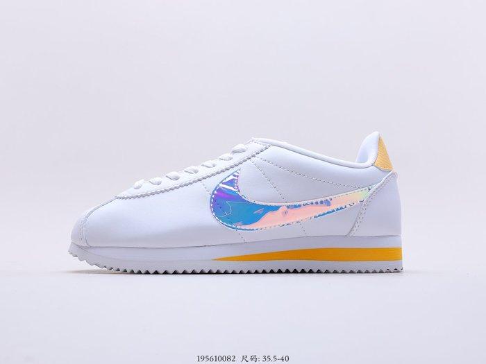 耐克Nike Classic Cortez Leather 女子阿甘經典復古跑鞋902856