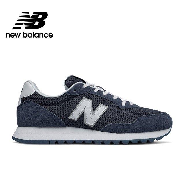 ➕sneakersplus➕ 男 NEW BALANCE 休閒鞋 NB 527 網布麂皮 復古 海軍藍 ML527SMB