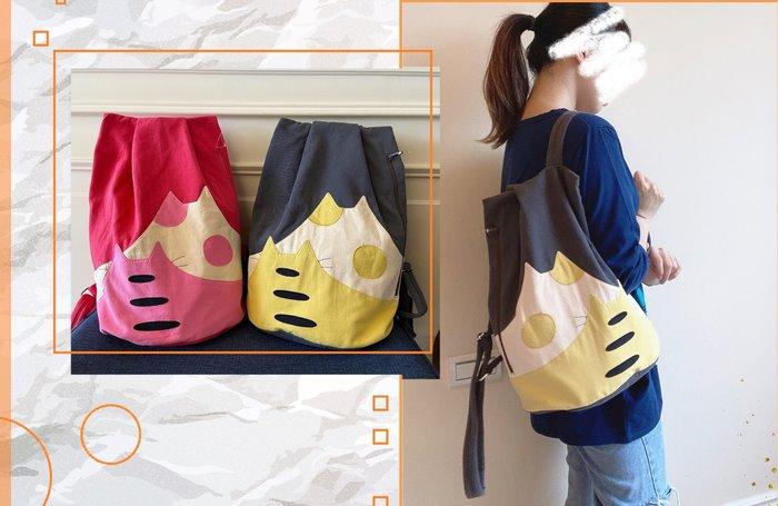 日本卡拉貓~山形貓經典安心防盜後背包