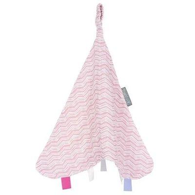 Cheeky Chompers-Muslin Comforter涼感搓搓安撫巾 - 【Rosy Days粉紅波波】