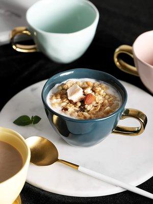 水杯 保溫杯早餐喝粥的杯子創意超可愛水杯簡約陶瓷咖啡馬克杯家用女代餐碗杯