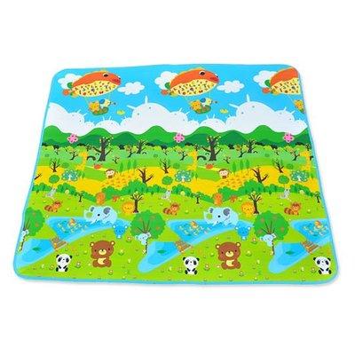 【現貨出清】蔓葆摺疊 嬰兒爬行墊 萬用地墊 野餐墊 睡墊 森林樂園