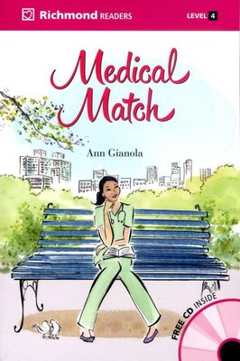 【優惠/英語/讀本/小說】Richmond Readers 4:A Medical Match (with CD)