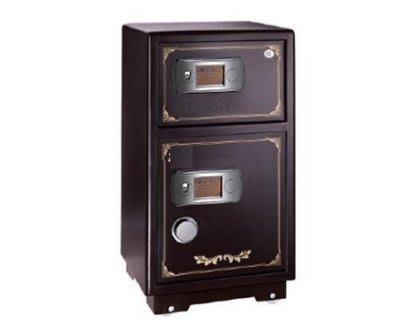 【弘瀚台中】全館免運費 金盾系列保險箱(金MW1100雙層) 金庫/防盜/電子式/密碼鎖/保險櫃/