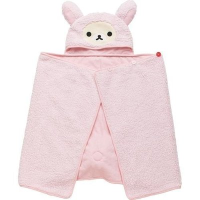 ===日本 SAN-X Rilakkuma 拉拉熊系列 懶懶熊 DK 浴袍/浴巾/浴巾DK-2809XA