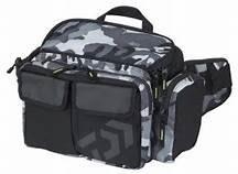 {龍哥釣具9} DAIWA HIP BAG (C) 木蝦 路亞收納袋 側背包 臀包 現貨供應 米彩灰色