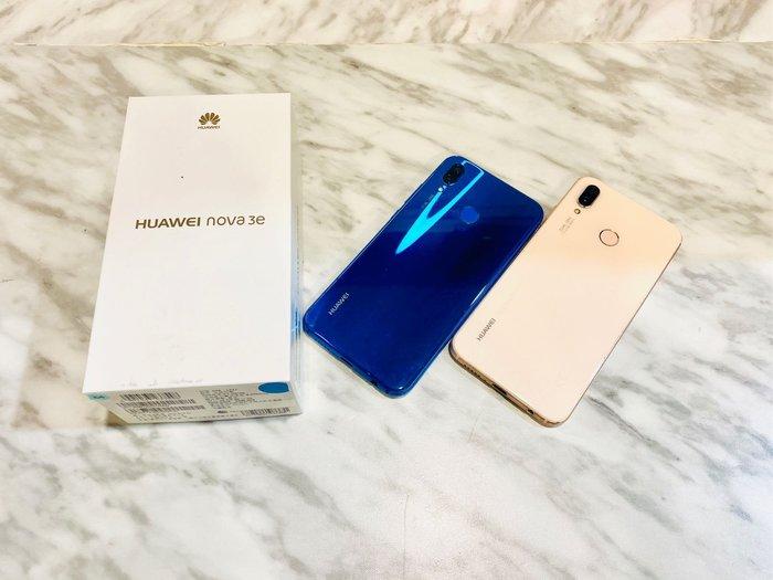 ?二手機 Huawei nova3e (5.84吋 4G 64GB 記憶卡擴充)