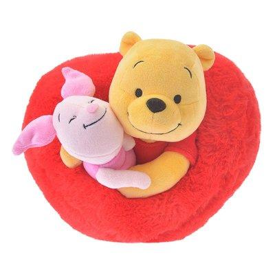 (現貨)玩瞎拚#日本空運代購 東京迪士尼商店 Valentine 2019 好朋友抱抱系列絨毛玩偶 小熊維尼&小豬