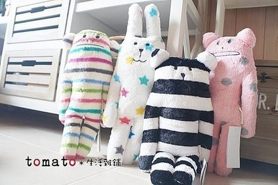˙TOMATO生活雜鋪˙日本進口雜貨CRAFTHOLIC星星兔條紋猴子熊點點貓(小款)