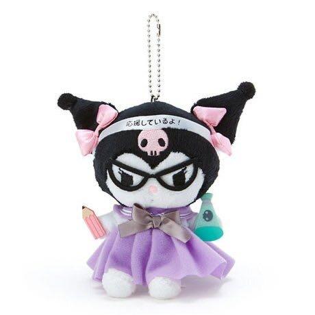 酷洛米 制服絨毛玩偶娃娃吊飾《黑紫》掛飾.鑰匙圈
