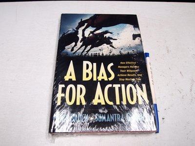 【懶得出門二手書】《A Bias for Action原價1048》│ Heike Bruc│全新 (B11R25)