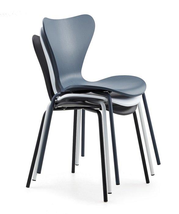 [ 椅子王。大咖專案 ] -----美樂椅《特價》可以堆疊