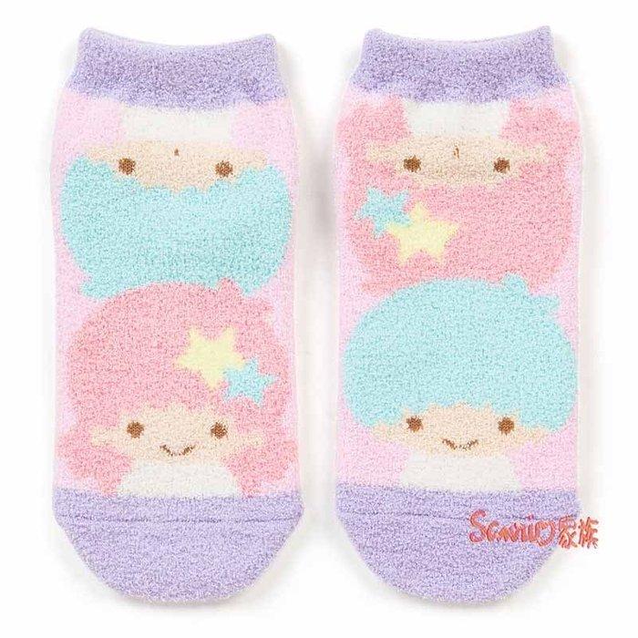 《東京家族》現貨日本三麗鷗 kikilala雙子星 小雙星 凱蒂貓 韓版短毛襪子