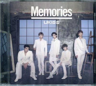 【嘟嘟音樂2】U-Kiss - 難忘的回憶 Memories  CD+DVD  (宣傳片)