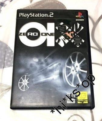$150   PlayStation (PS 2) 超好玩 首都高 01 ZERO ONE 另有
