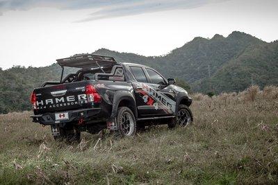 Toyota 豐田 Hilux 海力士 4X4 4*4 4WD Pick Up 皮卡 Hamer 後保 後保桿 19+